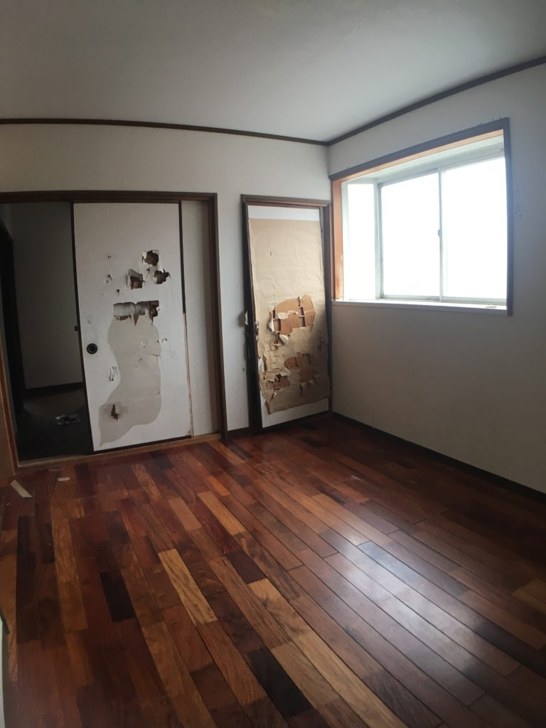 アパート改修工事前の写真