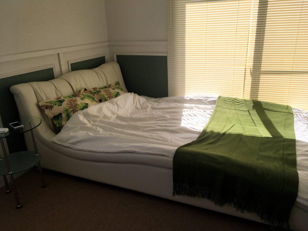 SOUKIが提案するアパートリノベーション。こちらは寝室