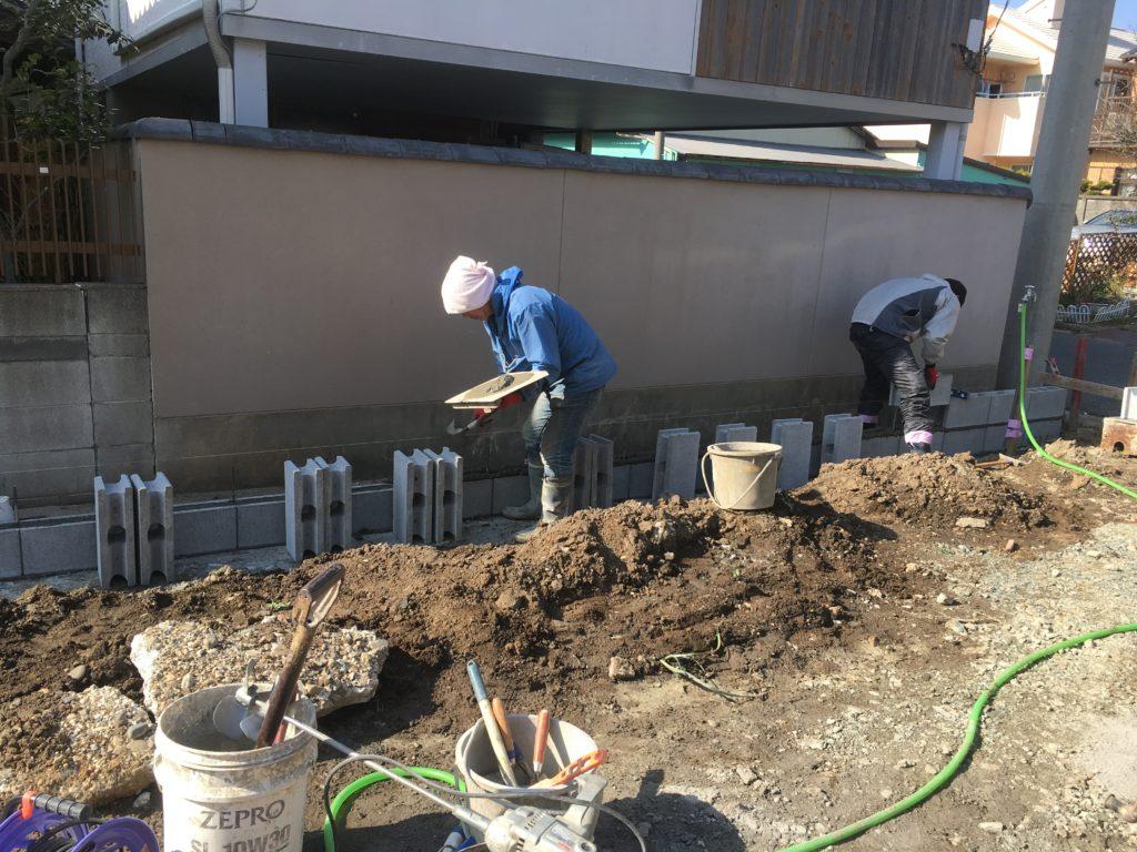 池見町のしばやま歯科クリニック様の倉庫兼ガレージ新築工事スタートです!