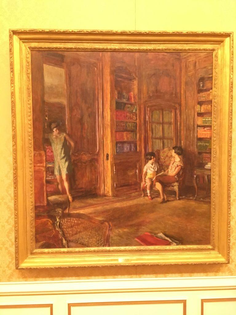 ヤマザキマザック美術館の絵