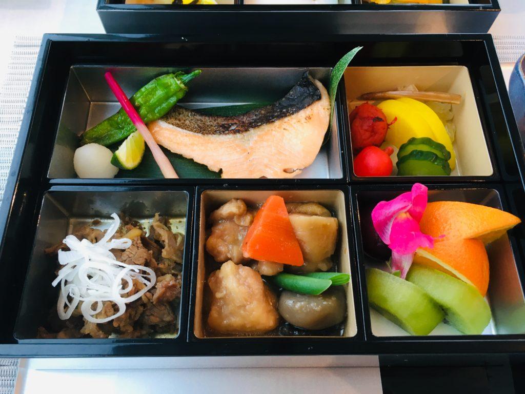 アークリッシュの和食朝食の写真