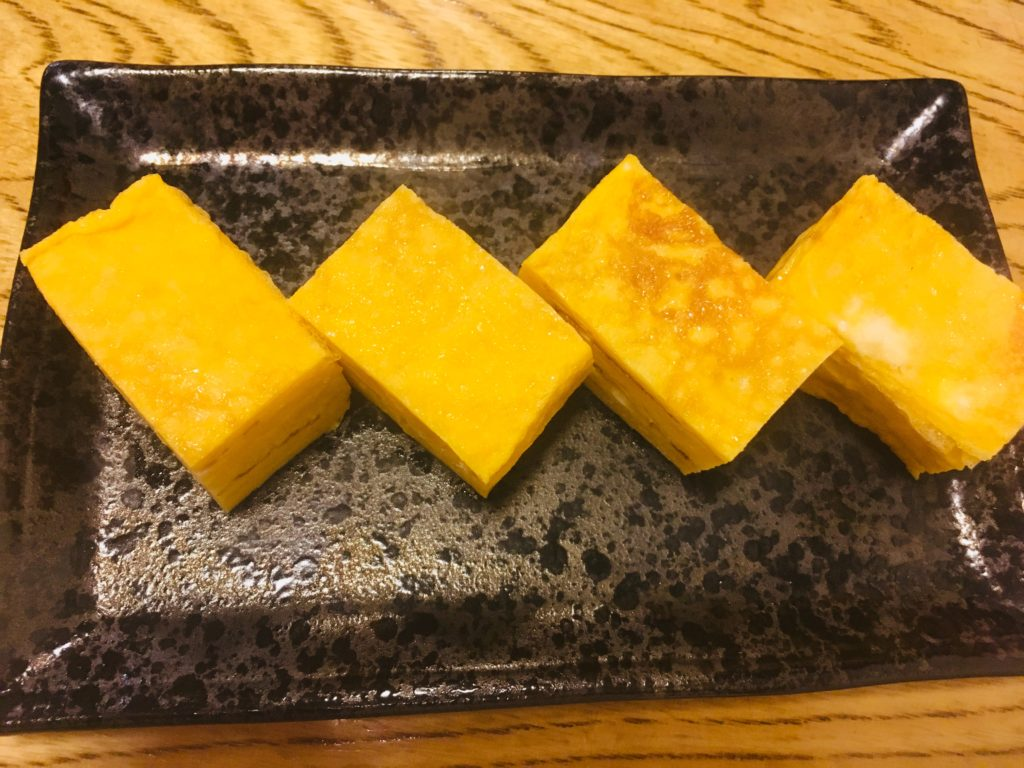 三金寿司さんの卵焼きの写真
