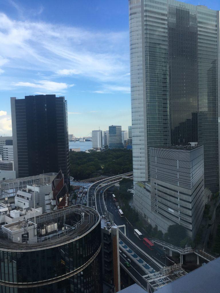三井ガーデンホテル銀座プレミアから撮影した写真