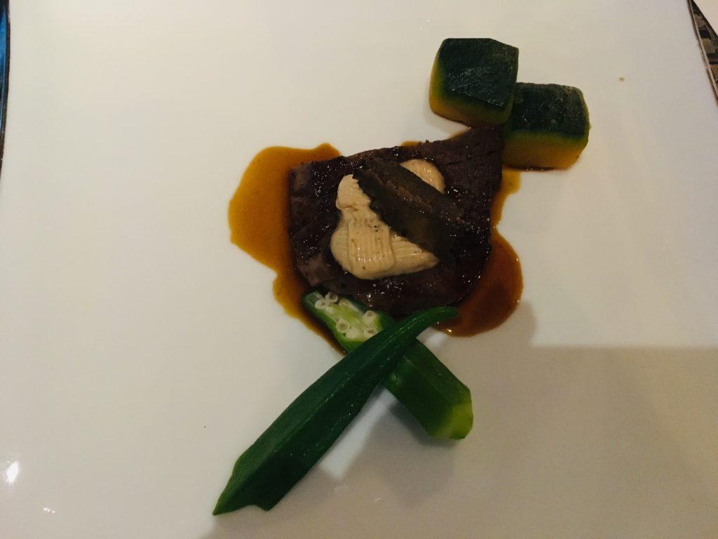 北海道黒牛ヒレ肉のロッシーニ風